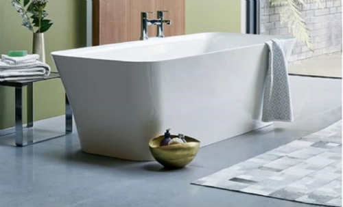 Clearwater Palermo Grande Bath 1790 x 750 x 560mm - Clearstone, N5Ccs